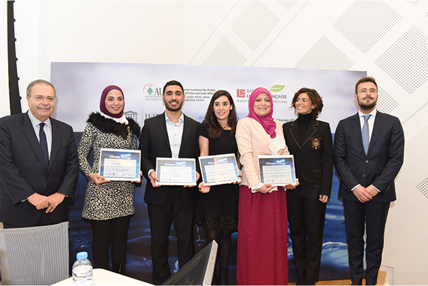 NDU GRADUATE WINS STUDENT CLIMATE CHANGE COMPETITION