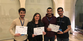 NDU COMPUTER SCIENCE STUDENTS WON SECOND PLACE IN HACKATHON BEIRUT 2018