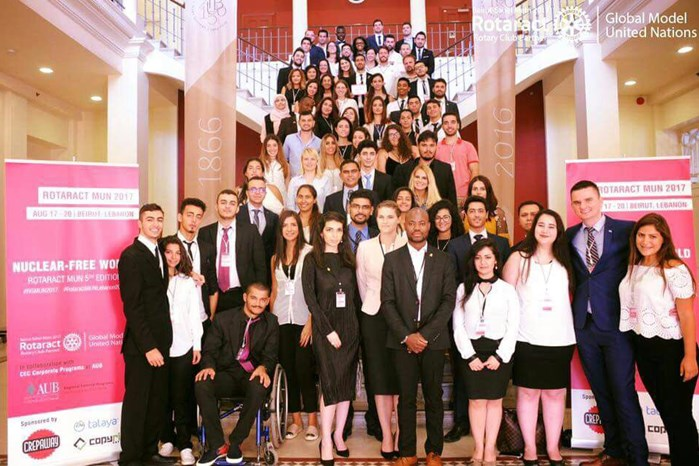 NDU MUN DELEGATION AT THE 5TH EDITION OF THE RGMUN