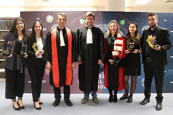NDU LAW STUDENTS WIN NATIONAL JESSUP COMPETITION