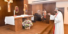 NDU'S HOLY MASS AND ADORATION DURING CORPUS CHRISTI 2019