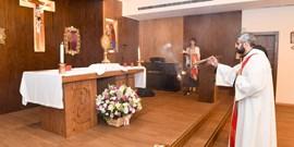 NDU'S HOLY MASS AND ADORATION DURING CORPUS CHRISTI 2019