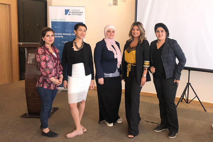 DEPARTMENT OF LAW STUDENT AT NDU PARTICIPATED IN YOUTH ACADEMY IN JORDAN