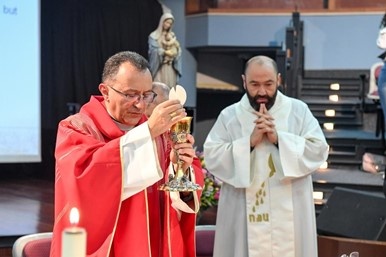 APOSTOLIC NUNCIO TO LEBANON PRESIDES OVER OPENING MASS FOR AY 2019-2020