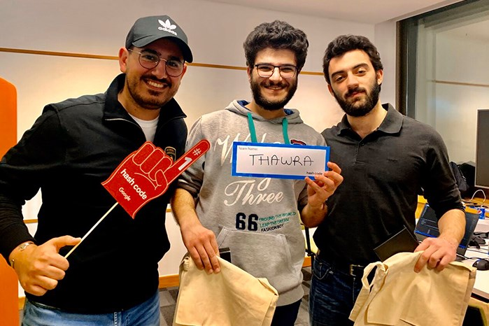 NDU STUDENT WINS 1ST PLACE IN LEBANON IN GOOGLE HASHCODE 2020