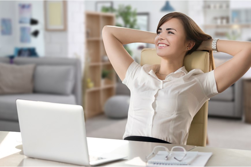 ERGONOMIC FURNITURE AND POSTURES WHILE WORKING FROM HOME