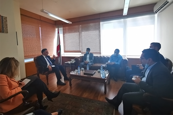 NDU STUDENTS MEET WITH OMSAR MINISTER TO DISCUSS ANTI-CORRUPTION MEASURES