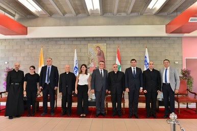 Congratulatory Visits to Newly Appointed NDU President Fr. Bechara Khoury