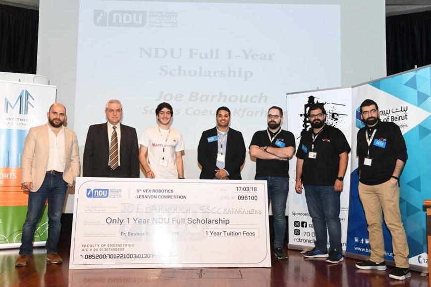 News Events News 5th Vex Robotics Competition At Ndu Ndu