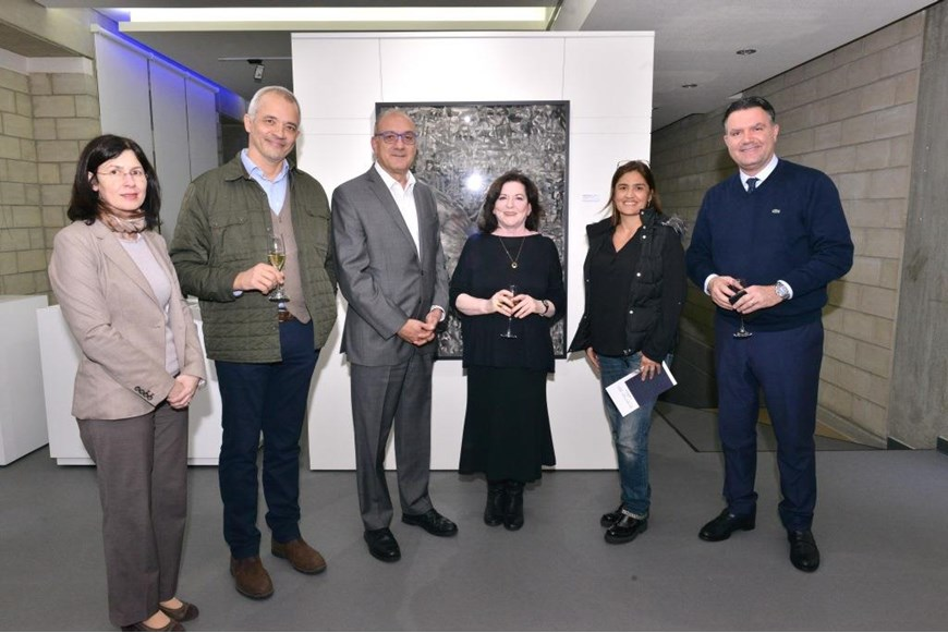 Beyond the Arab Spring Art Exhibition Opening 25