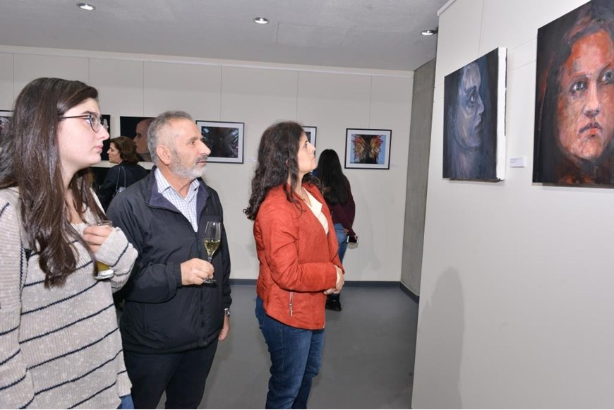 Beyond the Arab Spring Art Exhibition Opening 28