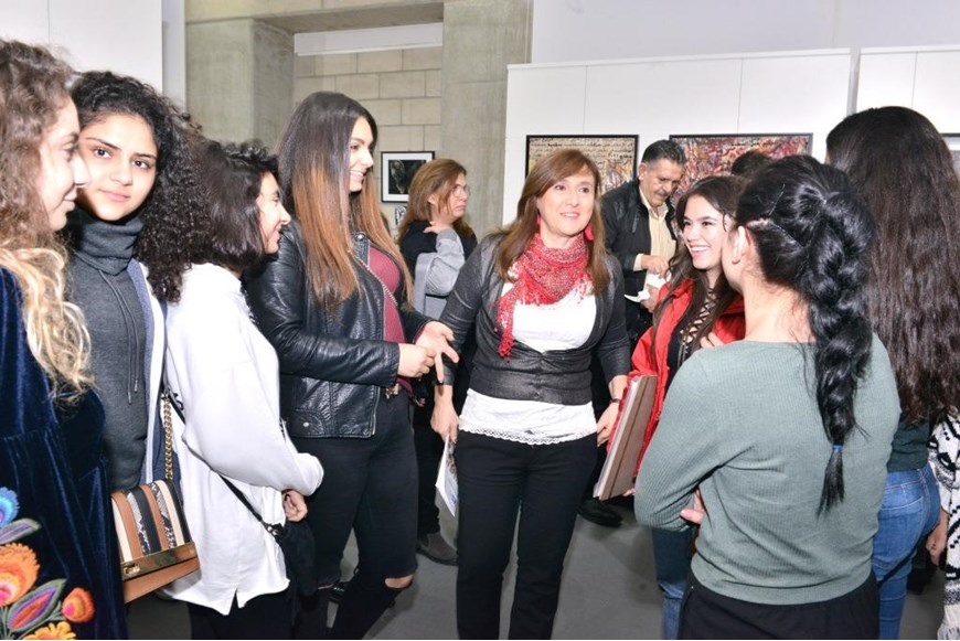 Beyond the Arab Spring Art Exhibition Opening 29