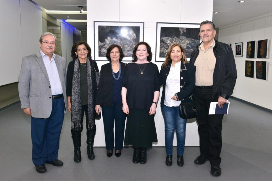 Beyond the Arab Spring Art Exhibition Opening 34
