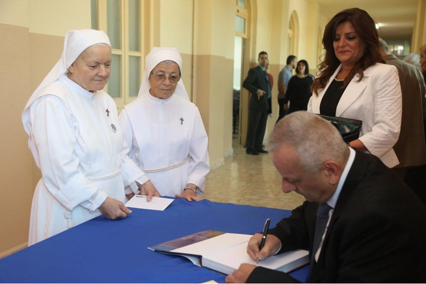Book-signing of Volume XIV - The Virgin Mary in Lebanon - Shouf District 12