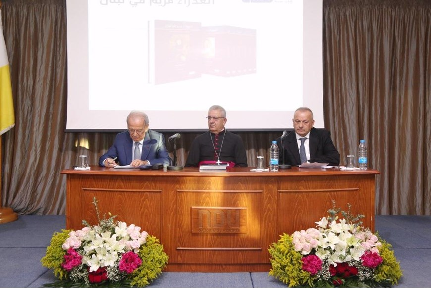 Book-signing of Volume XIV - The Virgin Mary in Lebanon - Shouf District 31