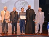 Ceremony for the Kamal Youssef El-Hage High School Competition 37
