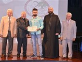 Ceremony for the Kamal Youssef El-Hage High School Competition 48