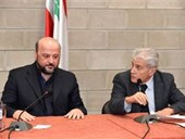 DISCUSSION WITH THE MINISTER MELHEM RIACHY 15