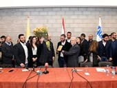 DISCUSSION WITH THE MINISTER MELHEM RIACHY 32