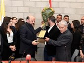 DISCUSSION WITH THE MINISTER MELHEM RIACHY 33
