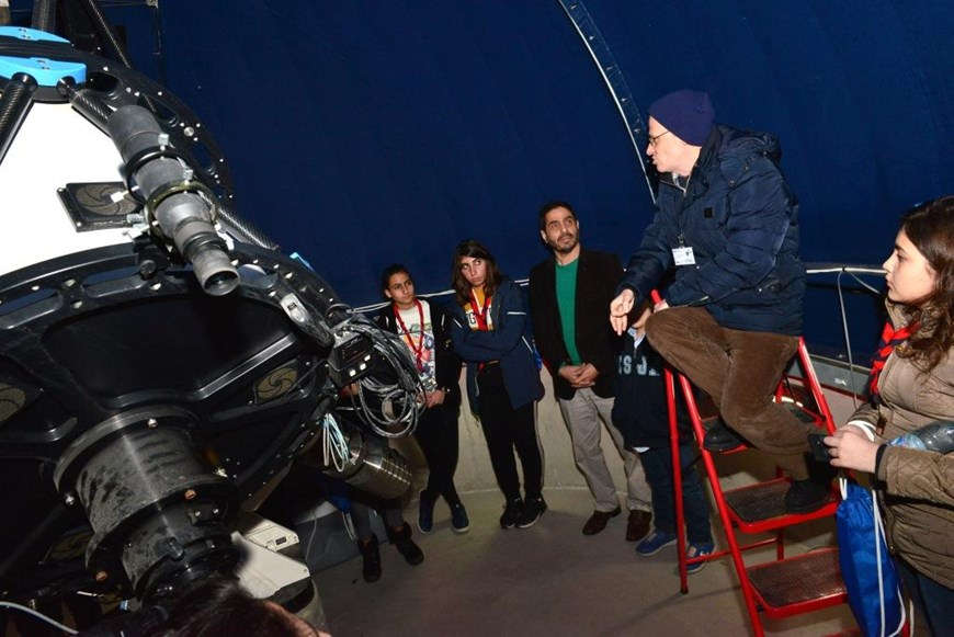 Discovering the Cosmos at NDU 5