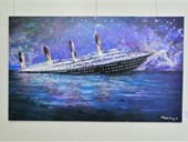 Inaugurating the Lebanese Aboard the Titanic Paintings into  the LERC LMM at NDU 6
