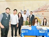 Inaugurating the Lebanese Aboard the Titanic Paintings into  the LERC LMM at NDU 39
