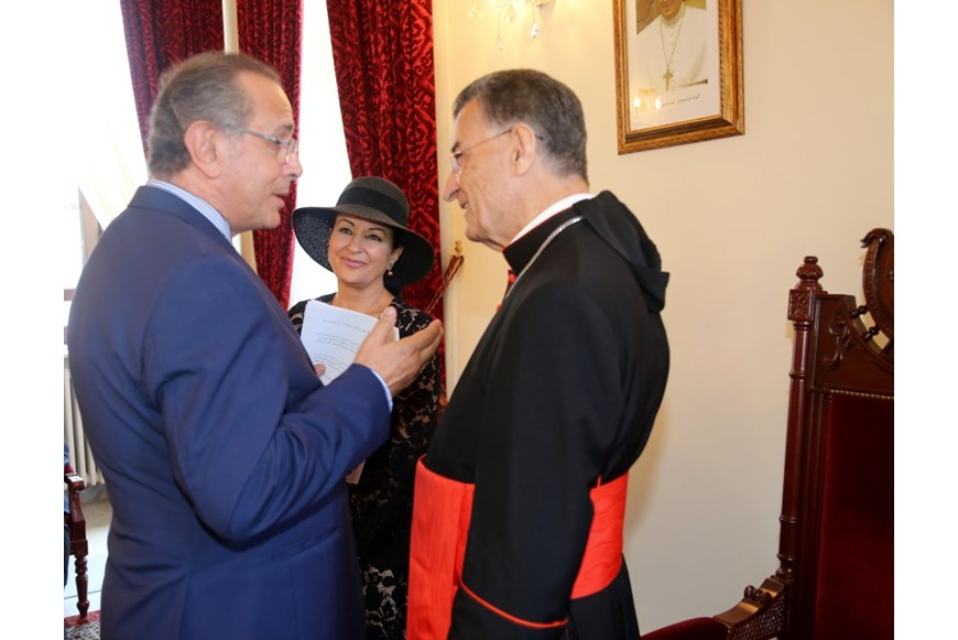 Maronite Patriarch Honors Guita Hourani  2