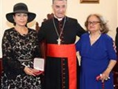 Maronite Patriarch Honors Guita Hourani  3