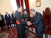 Maronite Patriarch Honors Guita Hourani  5