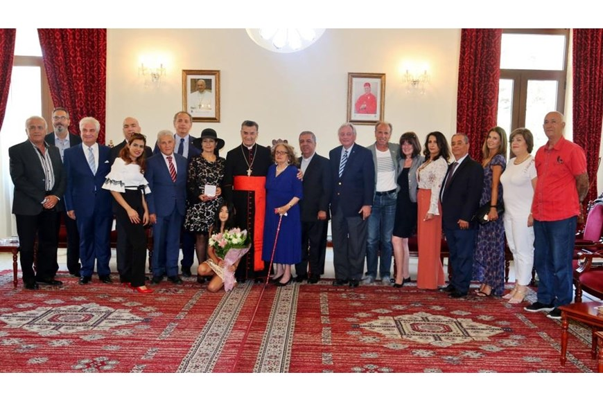 Maronite Patriarch Honors Guita Hourani  6