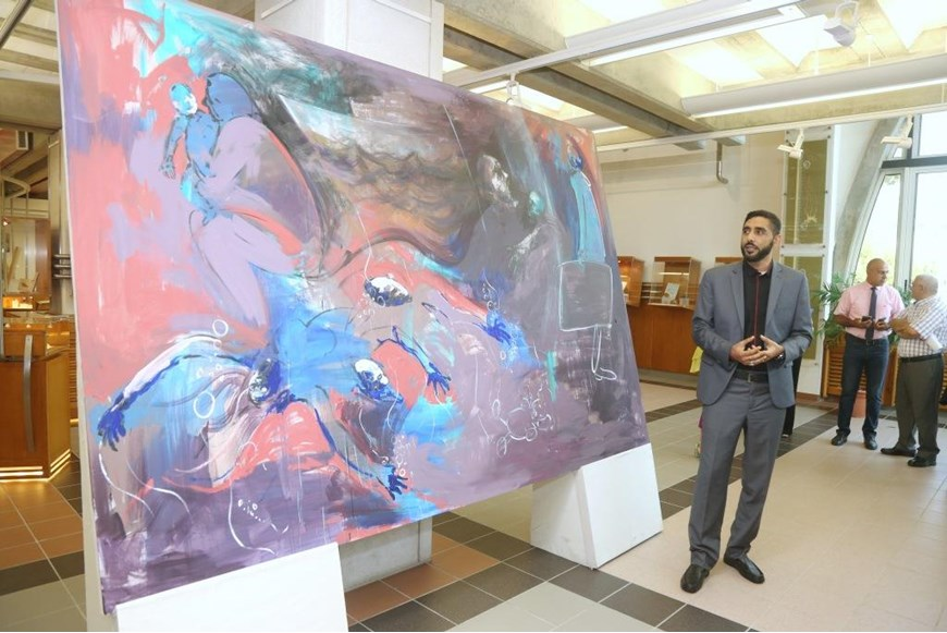 Migration and Art Event Held at NDU Lebanon and Migration Museum 14