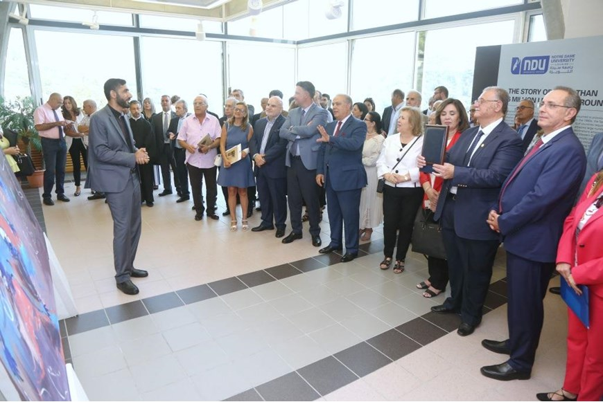 Migration and Art Event Held at NDU Lebanon and Migration Museum 15