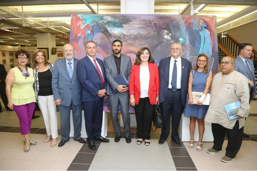 Migration and Art Event Held at NDU Lebanon and Migration Museum 18