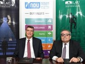 MoU Signed Between NDU and LAU 1