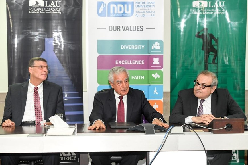 MoU Signed Between NDU and LAU 7