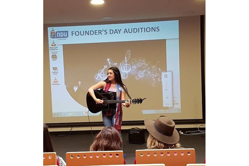 NDU Founders Day 2017 Auditions 4