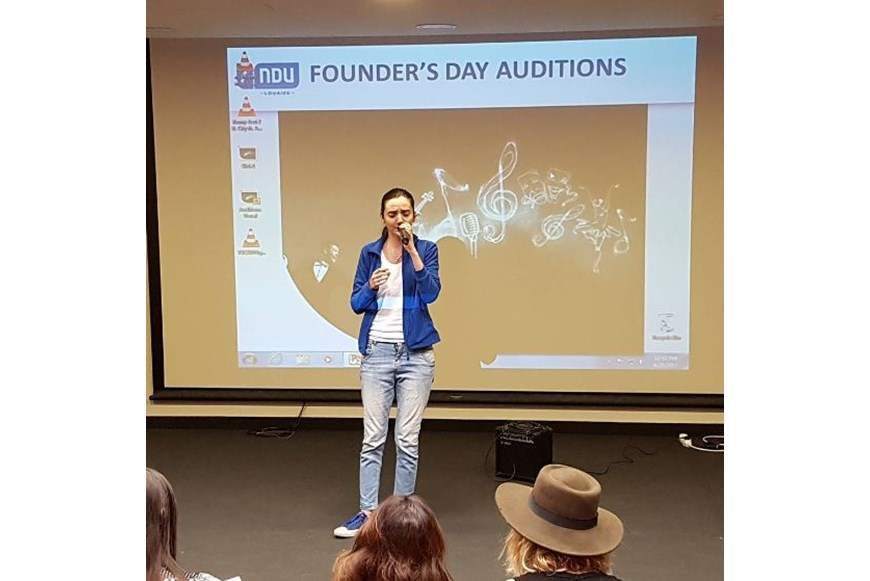 NDU Founders Day 2017 Auditions 5