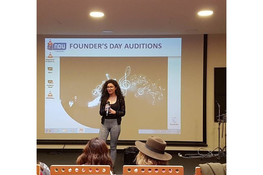 NDU Founders Day 2017 Auditions 7