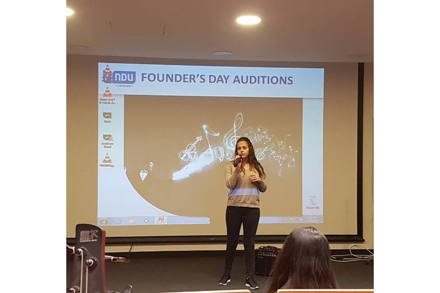 NDU Founders Day 2017 Auditions 8