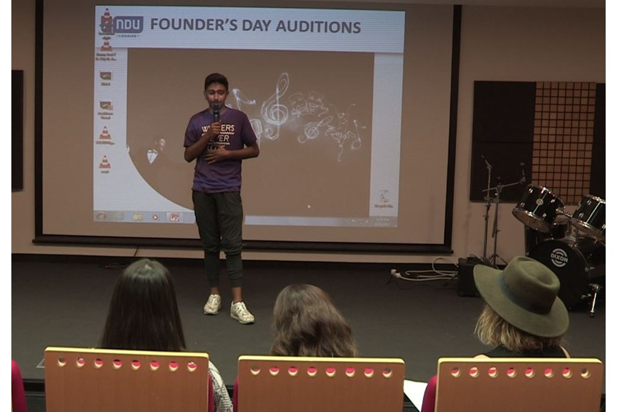NDU Founders Day 2017 Auditions 11