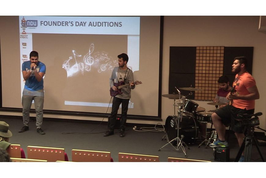 NDU Founders Day 2017 Auditions 13