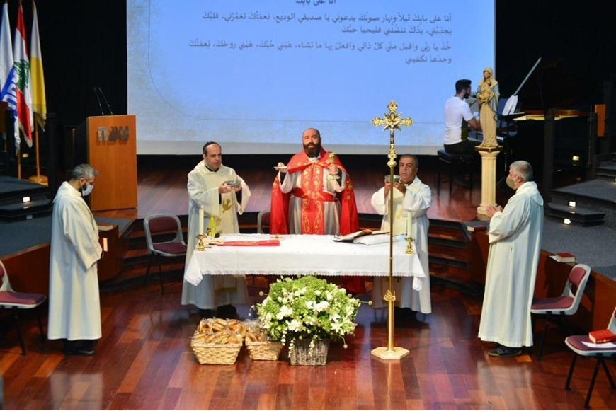 NDU Holds Memorial Mass for our Beloved Student Joe Akiki  11