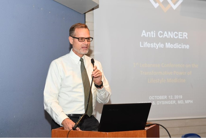 NDU Hosts First Conference on Lifestyle Medicine in Lebanon 51