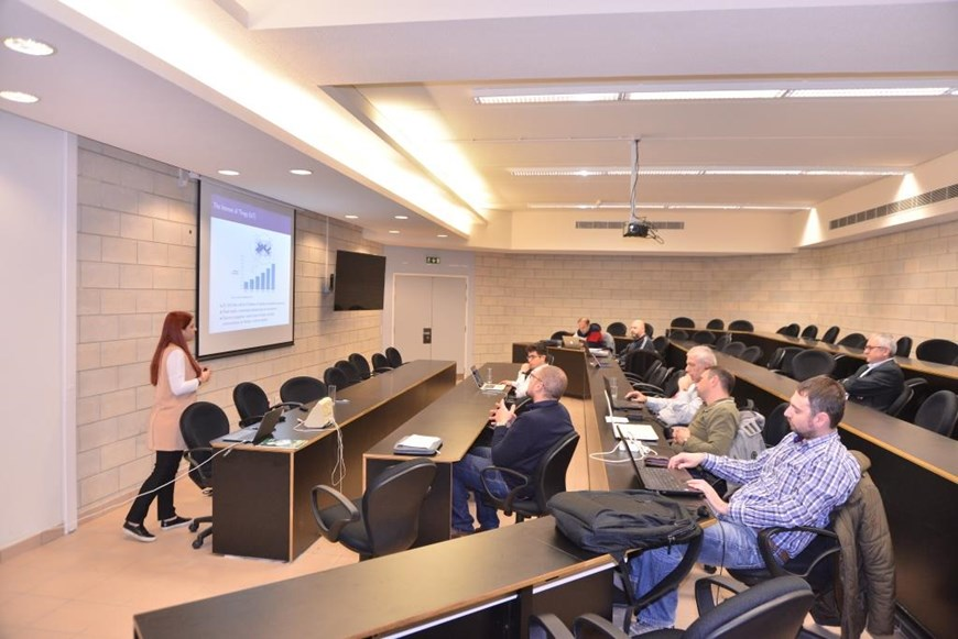 NDU Hosts Professors for the COM-MED Project 5