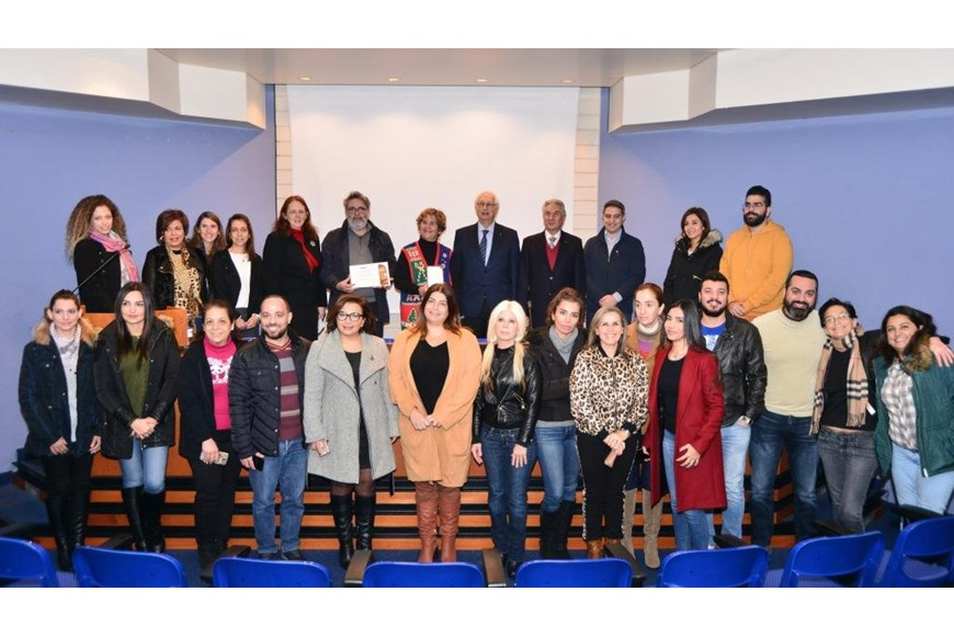 NDU Libraries Unveil Donor Tree to Celebrate a Donation of Books 2