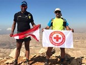 NDU Professor Completes Everesting Run for Red Cross 1