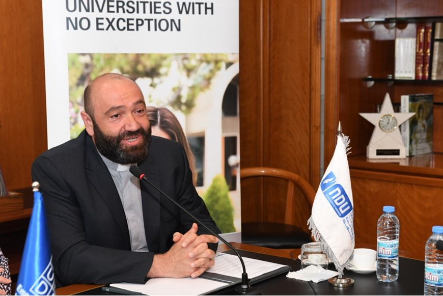 NDU Signs MOU with UNDP in Lebanon on Environment and Climate Change 4