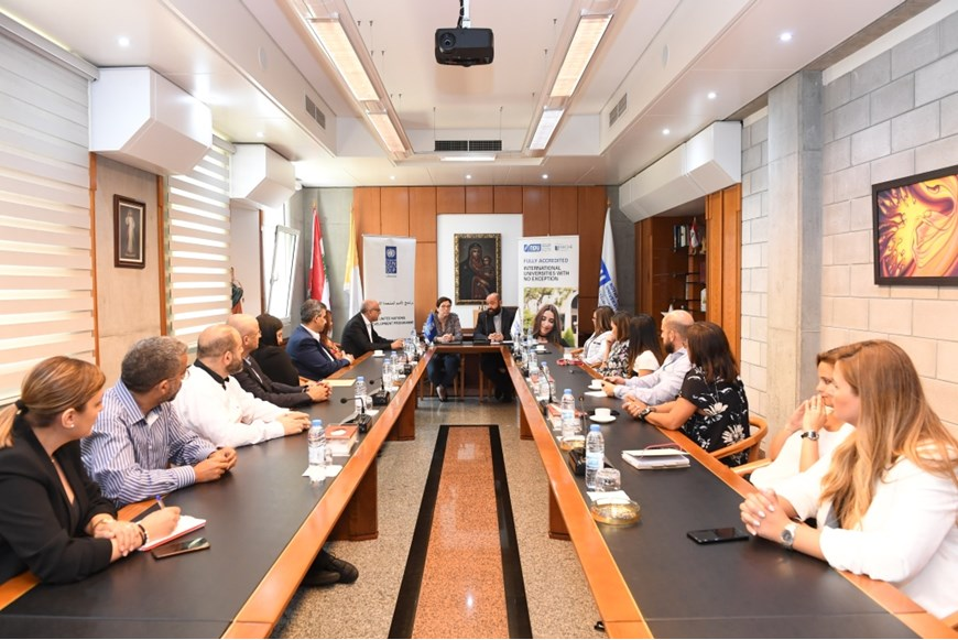 NDU Signs MOU with UNDP in Lebanon on Environment and Climate Change 5