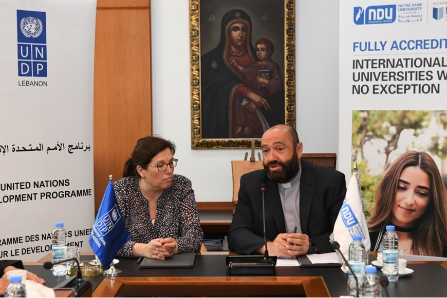 NDU Signs MOU with UNDP in Lebanon on Environment and Climate Change 6